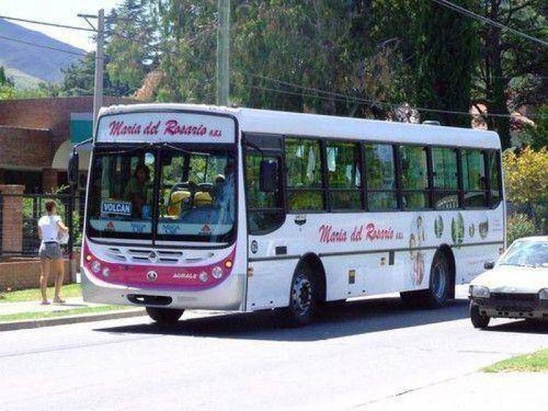 Trabajadores de María del Rosario y Sol Bus analizan realizar un paro el martes de la próxima semana