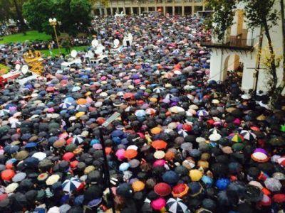 AMIA participó de la Marcha de Silencio en Homenaje al Fiscal Alberto Nisman