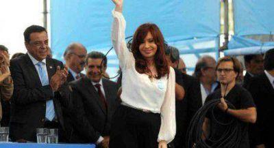 El gobernador acompaño a la presidenta al habilitar la generación máxima de Atucha II