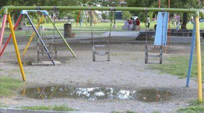 Parque San Martín: una inversión que no se refleja en obras