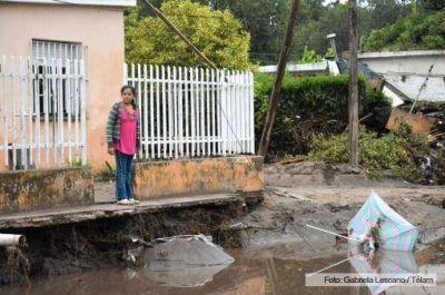 El buen clima favorece la ayuda a damnificados por el temporal en Córdoba