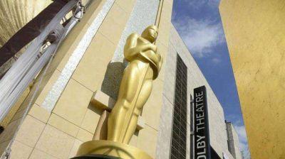 Todo listo para la entrega de los Oscar