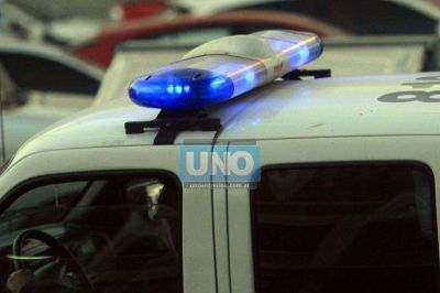 Dos hombres fueron detenidos por balear a móviles policiales