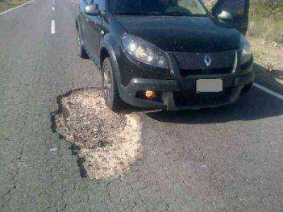 Denuncian el peligroso estado de Rutas 14 y 20