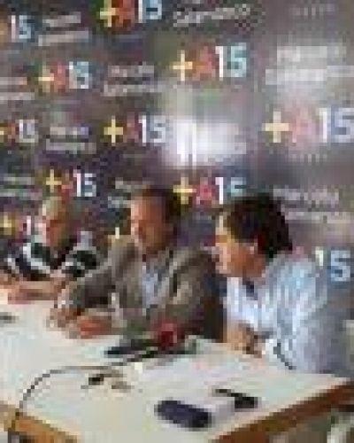 Bolívar: Coll Areco y el candidato massista a la Intendencia cuestionaron duramente a Scioli por obras