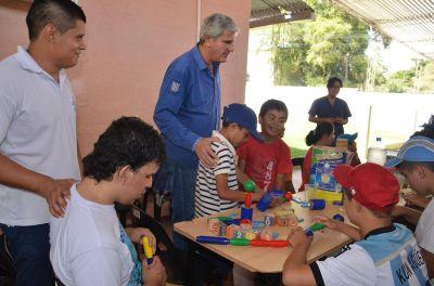 Zottos destacó la tarea de una ONG que trabaja en la integración de discapacitados