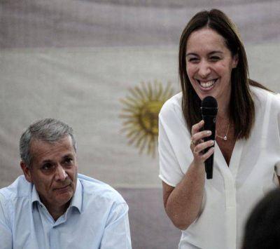 PRO: María Eugenia Vidal se mostró con Castrilli en La Matanza