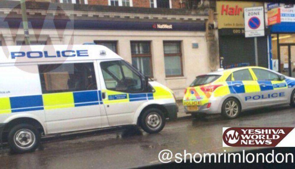 En Londres, arrestaron a un hombre que realizaba el saludo nazi y gritaba insultos antisemitas a los transeuntes