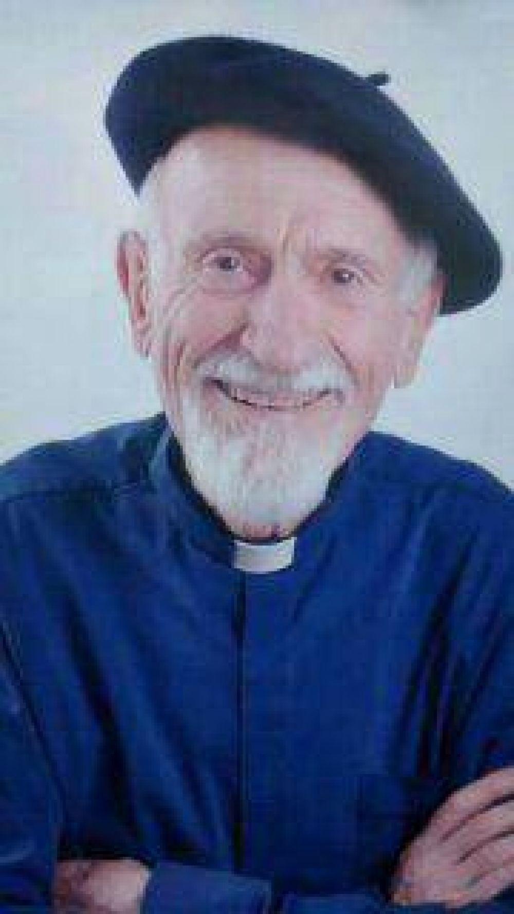 Reencuentro con el Padre Abel Urrutia el próximo sábado 28 en la Iglesia Catedral