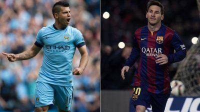 Agüero-Messi: Manchester City recibe al Barcelona por la Ida de los Octavos de Final y la revancha del año pasado