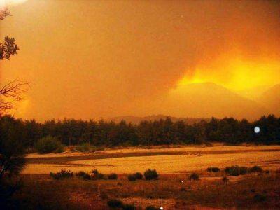 El fuego no da tregua: alcanzó complejo privado y son 13 mil las hectáreas afectadas