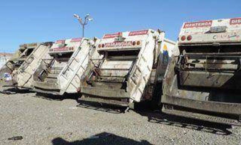 Medida de fuerza afectó la recolección de residuos