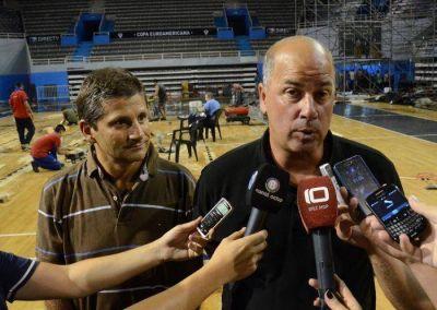 """Taccone garantizó la realización del cuadrangular semifinal de la """"Liga de las Américas"""""""