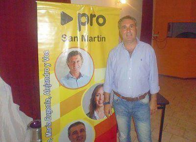 """Keck: """"Las encuestas me dan entre el 15% y el 19% en San Martín"""""""