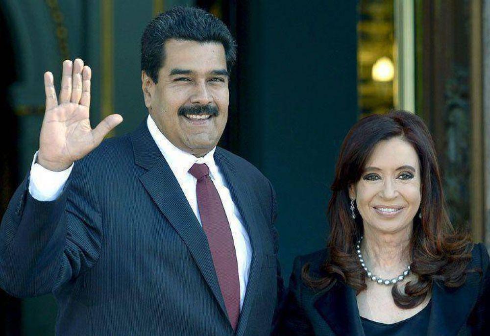 Tras la represión y detención de un alcalde opositor, diputados K respaldaron a Maduro