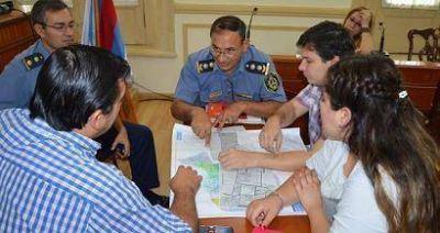 Concejales se reunieron con efectivos policiales por construcción de comisaría