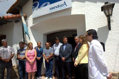 Roby inauguró las obras de ampliación y refuncionalización del Centro de Salud de Potrerillos