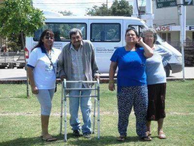 Desarrollo Social posibilitó la participación de adultos mayores en los Súper Carnavales de Villa Ángela