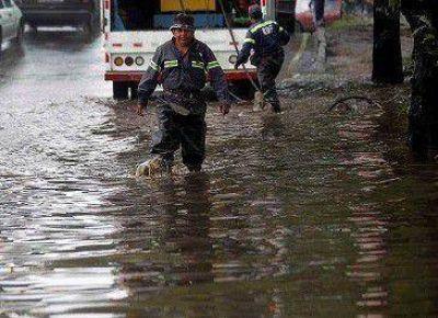 Balnearia colapsada por 300 mm de lluvia (hay 80 evacuados)