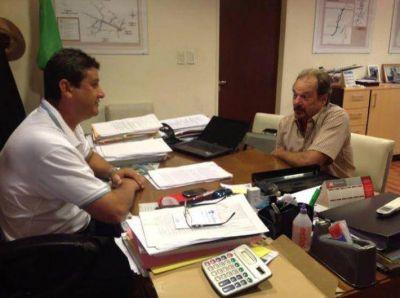 Verbeek recibió a los intendentes de Du Graty y Villa Río Bermejito para gestionar obras