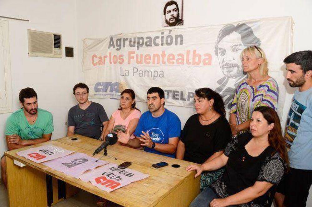 """La Fuentealba convocó a un paro el lunes: """"lo de UTELPA fue a espaldas de los docentes"""""""
