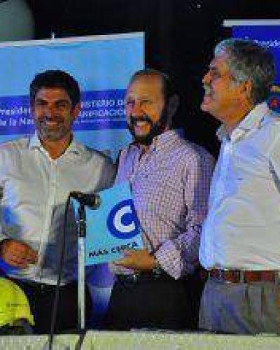 Ibáñez destacó convenios para ejecutar obras eléctricas en toda la provincia