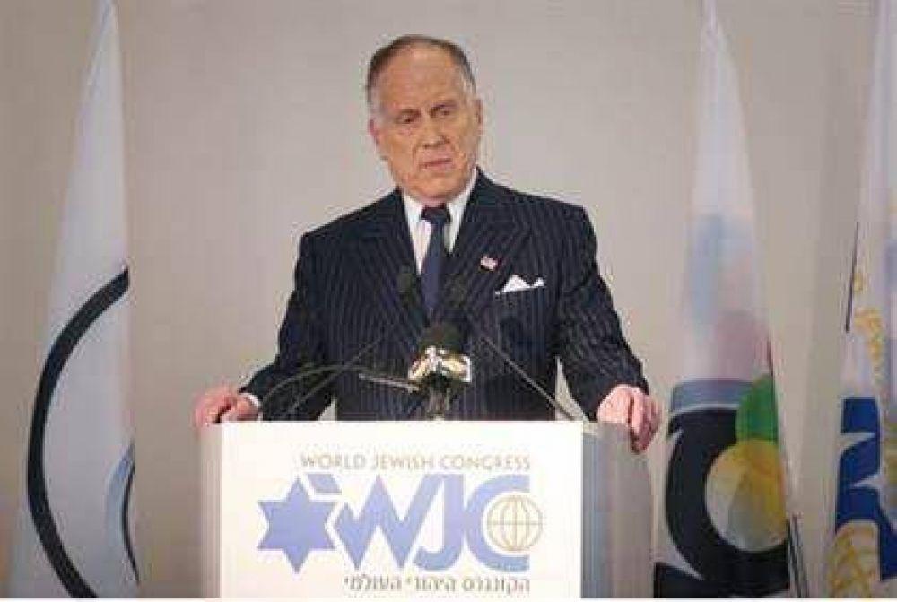 Para el Congreso Judío Mundial: