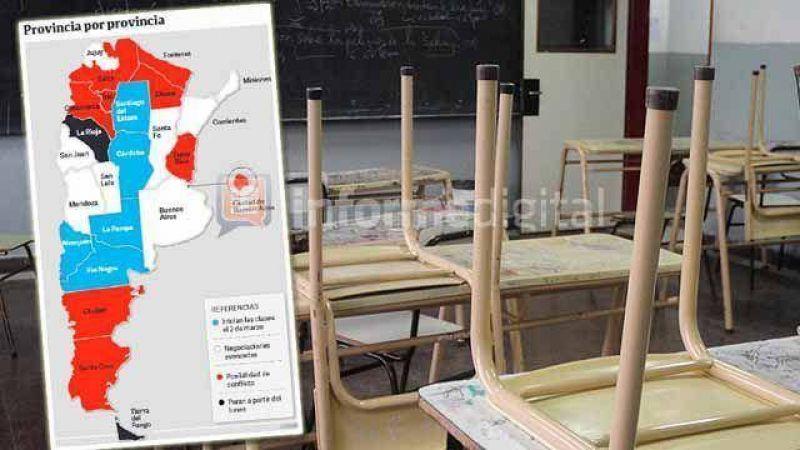 Paritaria nacional docente: gobierno dará a conocer nueva oferta