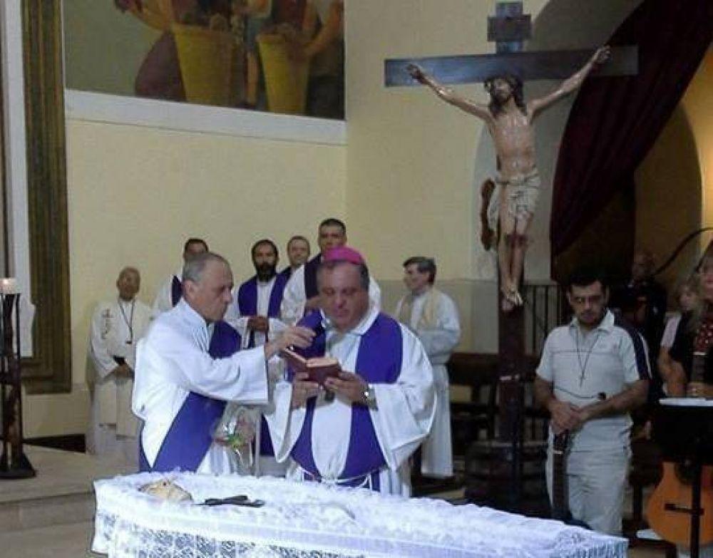 Dieron el último adiós a Mons. Bernardo Witte
