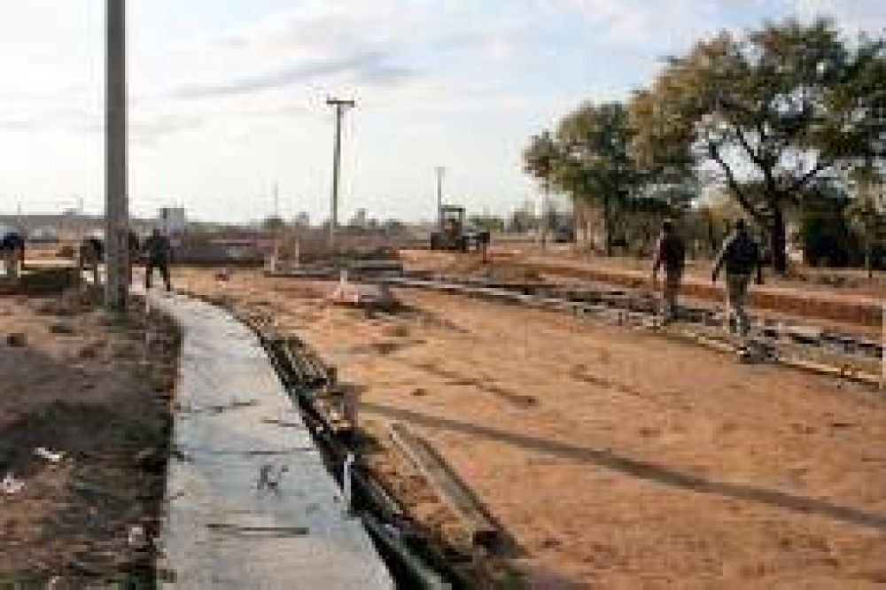 Avanza la obra de remodelación de la Avenida Ramírez de Velazco