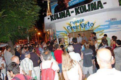 Carlos Castagneto lanz� su pre-candidatura en San Fernando