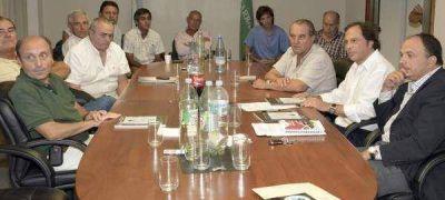 """Giustozzi: """"Voy a gobernar con el campo y los intendentes sentados a la mesa principal"""""""