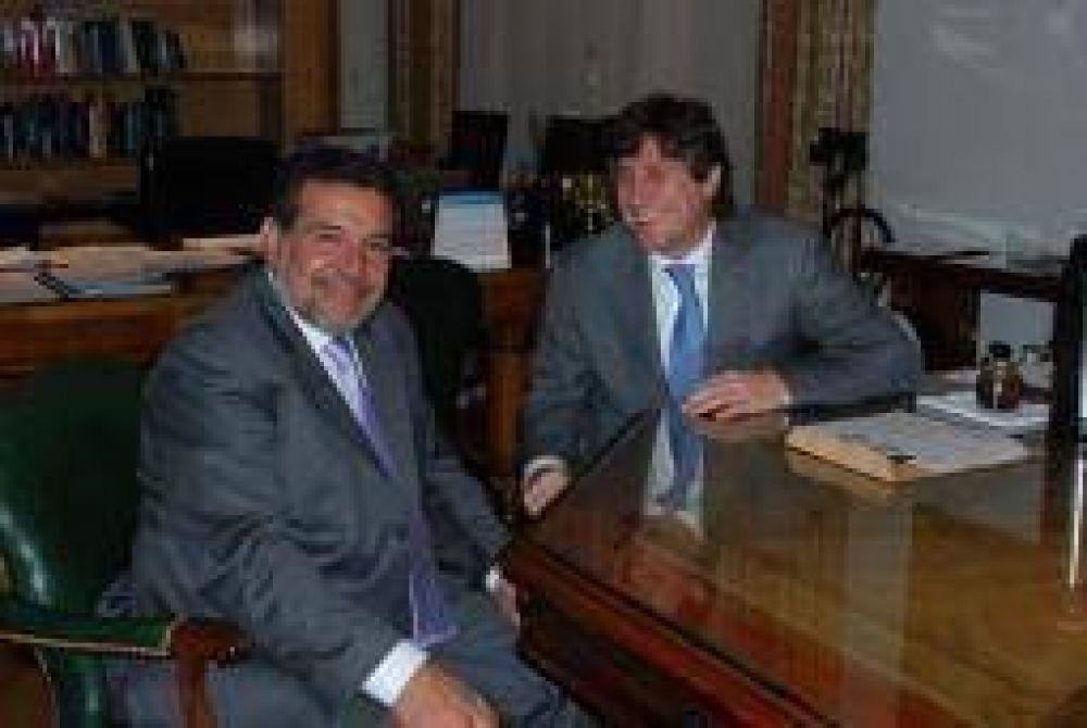 Beder se reunió con Boudou y le pidió asegurar los fondos 'extras'