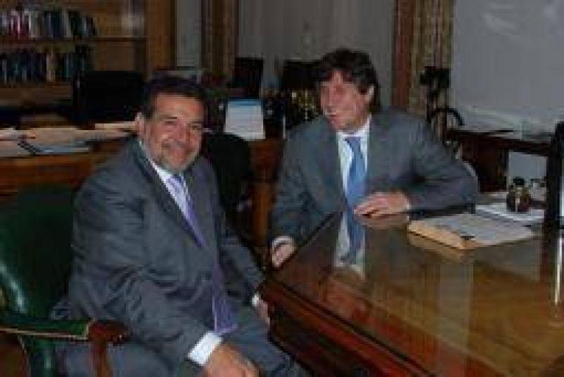 Beder se reuni� con Boudou y le pidi� asegurar los fondos �extras�
