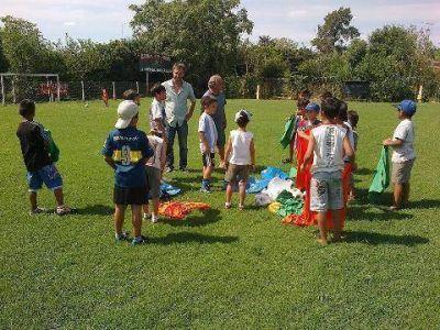 Federico Guibaud visitó varias entidades deportivas