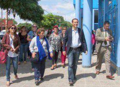 Gutiérrez paseó garantías en tierras de Rioseco