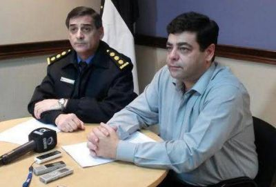 """Según Gustavo Martínez """"el delito bajó un 25%"""""""
