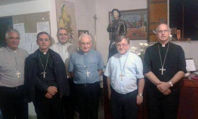 Los obispos de C�rdoba, reunidos en Cura Brochero