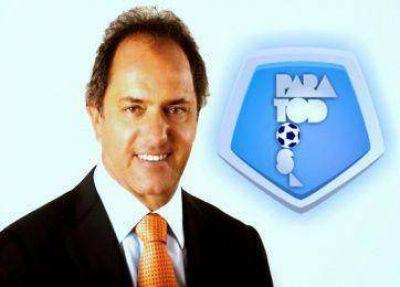 La Ola Naranja, enojada con Fútbol para Todos