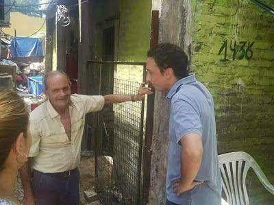 Mario Posse continua recorriendo San Fernando