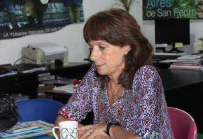 Vilma Ripoll aseguró que la izquierda quiere presentar candidatos en San Pedro