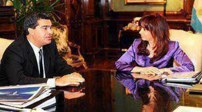 """Aseguraron que el encuentro entre Cristina Kirchner y el gobernador de Chaco fue """"positivo"""""""