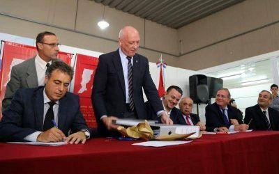 Antonio Bonfatti abrió las ofertas para construir el quinto hospital de alta complejidad de la Provincia de Santa Fe