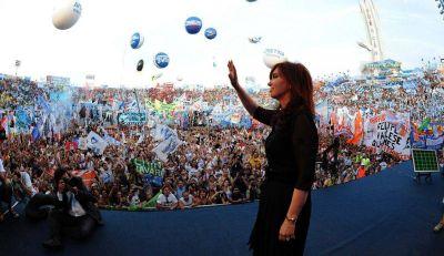 El kirchnerismo prepara una manifestaci�n rotunda de apoyo a Cristina para el domingo