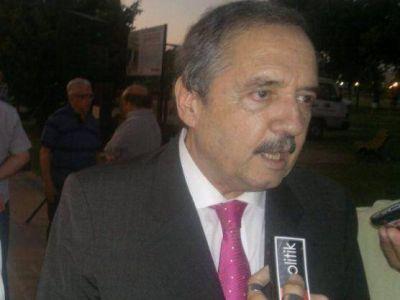 """Ricardo Alfonsín visitó Berisso: """"La UCR será la que consagre al presidente"""""""
