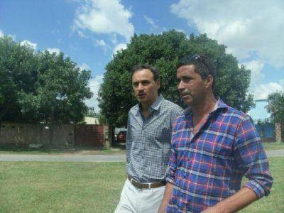 """César Lárez: """"Venimos trabajando para ser parte de la lista y acompañar a Pablo Bruera"""""""