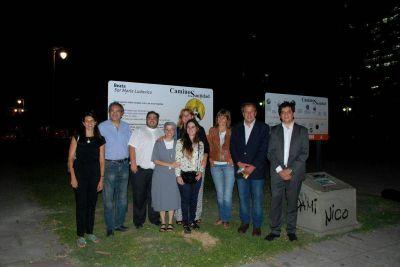 """Carteles de """"Caminos de Santidad"""" en honor a Sor Ludovica fueron bendecidos en La Plata"""