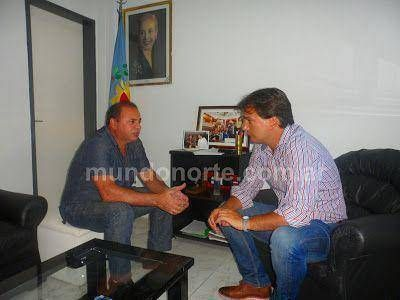 Oscar Duché se reunió con el Senador Provincial Galmarini