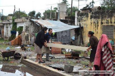 Siguen las lluvias en Córdoba y se dificultan las tareas de Defensa Civil