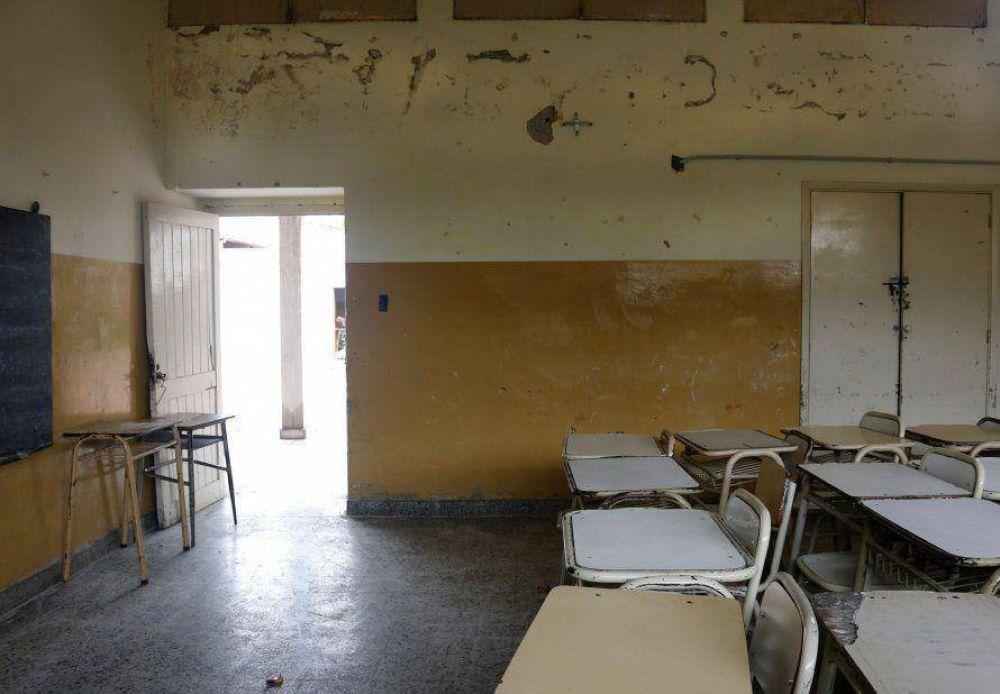Escuelas iniciarán las clases en obras